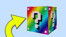我的世界彩虹幸运方块:运气爆棚,幸运许愿井爆出成吨钻石!