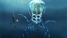 深海迷航:进入水雷区,遭遇放电巨型鱿鱼