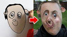 【全世界最酷的老爸】爸爸把6岁孩子的画化为现实,用心感人!!