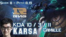 RNG Karsa 卡密尔 vs XIN 赵信