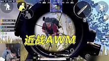 刺激战场难言x:决赛圈AWM近战狙
