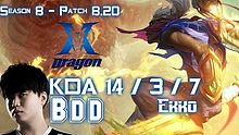 KZ BDD 艾克 vs 卡尔萨斯