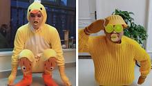 Big笑工坊-火遍全网的魔性小黄鸭惨遭恶搞,网友们又搞出了新花样