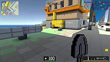 小V:这样的枪战游戏谁都能无敌。