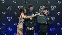 S8全球总决赛冠军采访