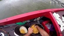 渔乐生活家:发酵玉米打窝,玉米粒做钓饵,大鲤鱼排着队上钩