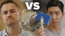 美国VS韩国 洗碗机到底怎么用?!