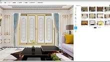 杜特预见家2D门窗效果图设计