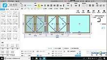 杜特预见家门窗速图门窗设计软件