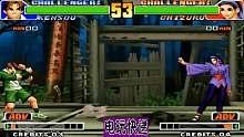 拳皇98 三神器家族唯一女传人!神乐千鹤只需要这一招就解决掉所有人!