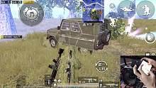 刺激战场难言x:你以为躲过手雷,跳进防弹车就无敌了?天真