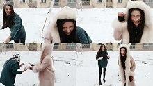 【罗玉姬子】下雪啦!打雪仗啦!
