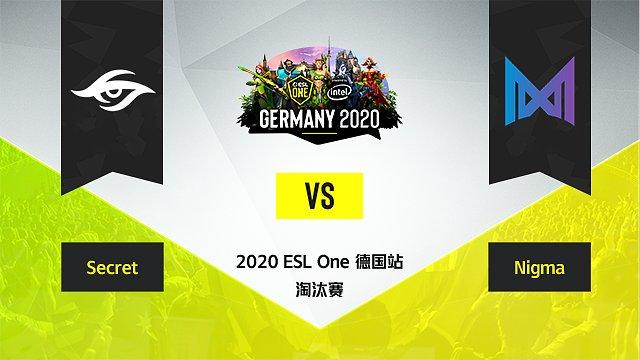 淘汰赛 Secret vs Nigma - 1