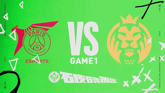 MAD vs PSG_小组赛Day1_2021MSI季中冠军赛